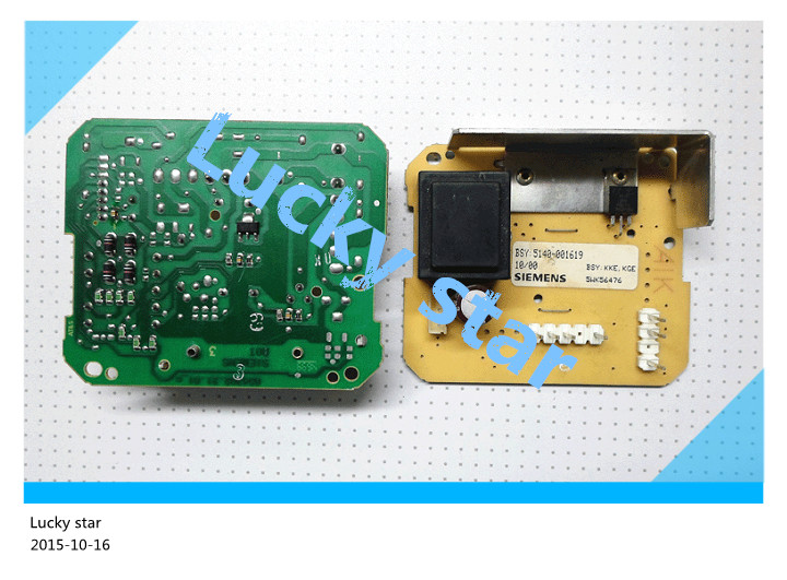 95% new for SIEMENS refrigerator computer board circuit board BSY 5140-001619 5WK56476 power board good working 2pcs/lot 2pcs lot 216 0774007 computer chips new