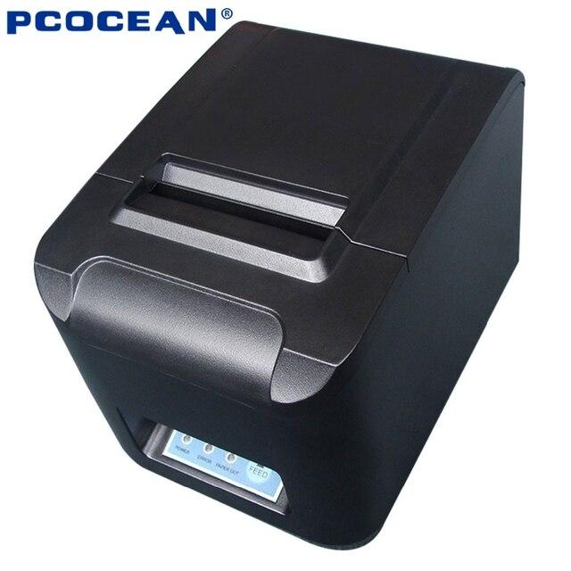 80 мм 260 мм/sec POS Тепловая Чековый Принтер USB/Ethernet/Serial Auto Резак Машина принтера