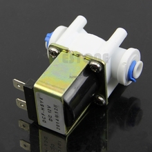 Electric Solenoid Valve for Water Purifier Ionizer Refrigerator Normally Closed DC 12V