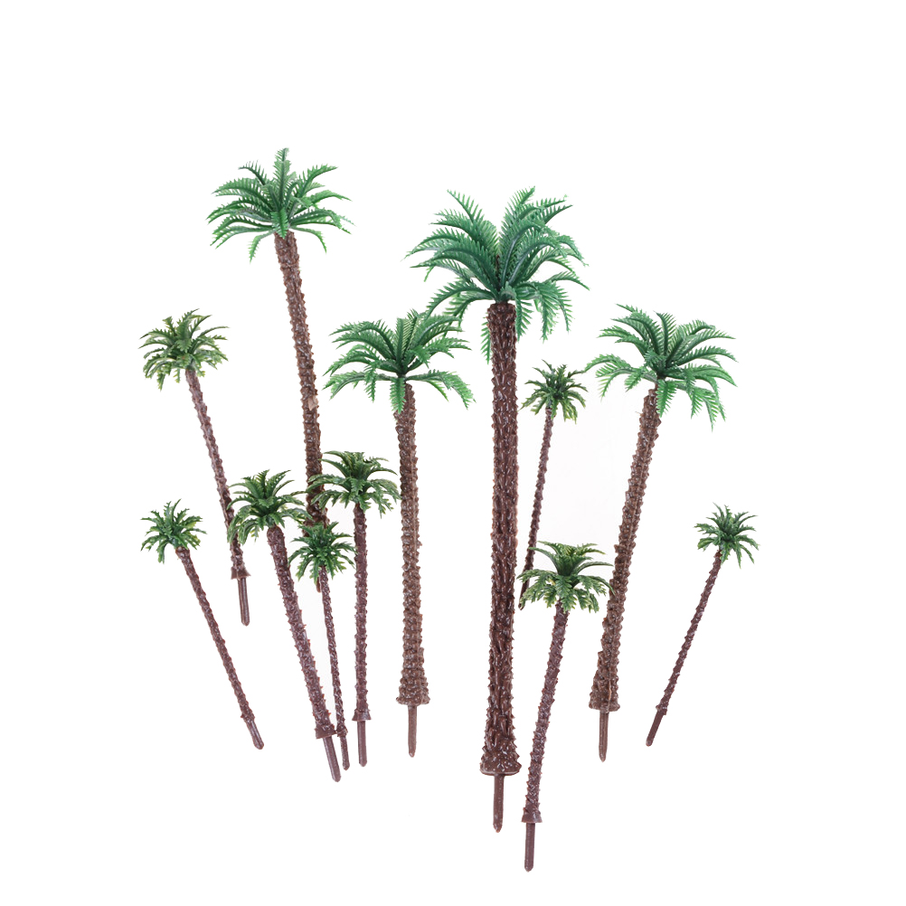 10pcs Mini Green Scenery Landscape
