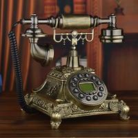 Новый европейский Античная Ретро мода сад телефон украшения дома книги по искусству телефон Caller ID подсветкой поворотный циферблат
