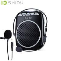 S308 mini draagbare Speaker Voice Versterker Luidspreker Met Prachtig Hulpmiddel Voor Onderwijs Ondersteuning Tour Guide Sales Megafoon mike