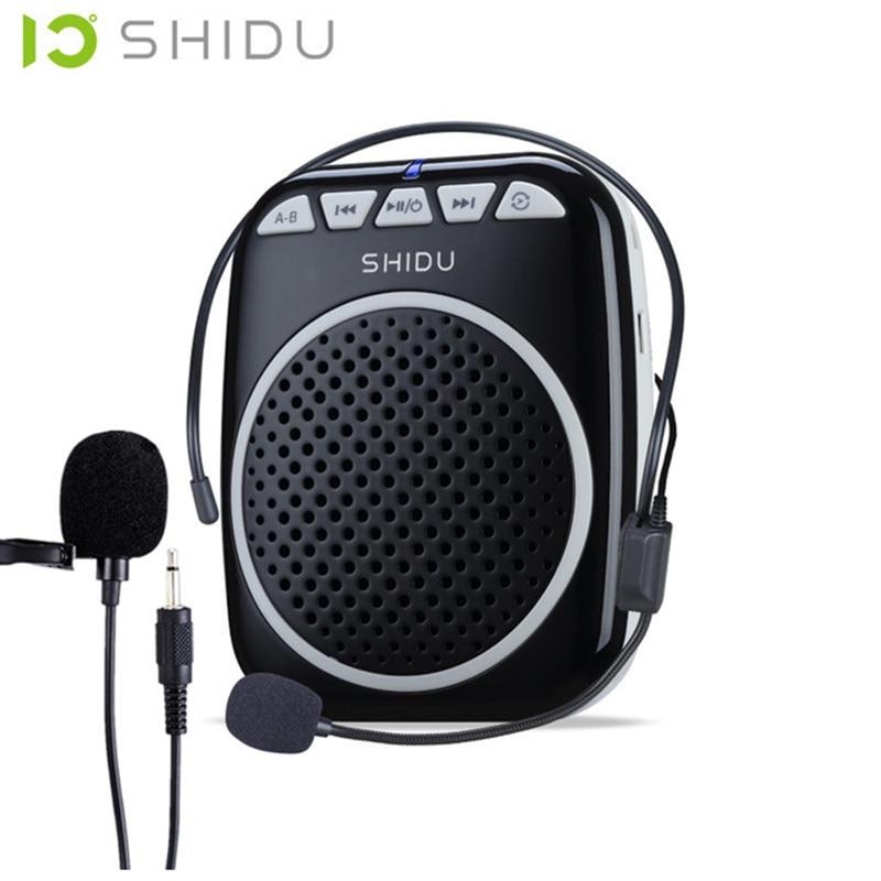 S308 미니 휴대용 스피커 음성 증폭기 라우드 스피커 (교육용 지원 도구) 영업 안내 메가폰 마이크