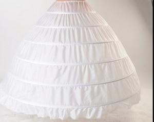 Image 2 - ANGELSBRIDEP חדש 6 חישוקי תחתוניות המולת עבור כדור שמלת חתונת שמלות תחתוניות כלה אביזרי הכלה קרינולינות