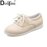 DoraTasia Spring Big Size 34 43 Fashion Good Quality Sneakers Women Vulcanize Shoes Comfort Shoes Woman