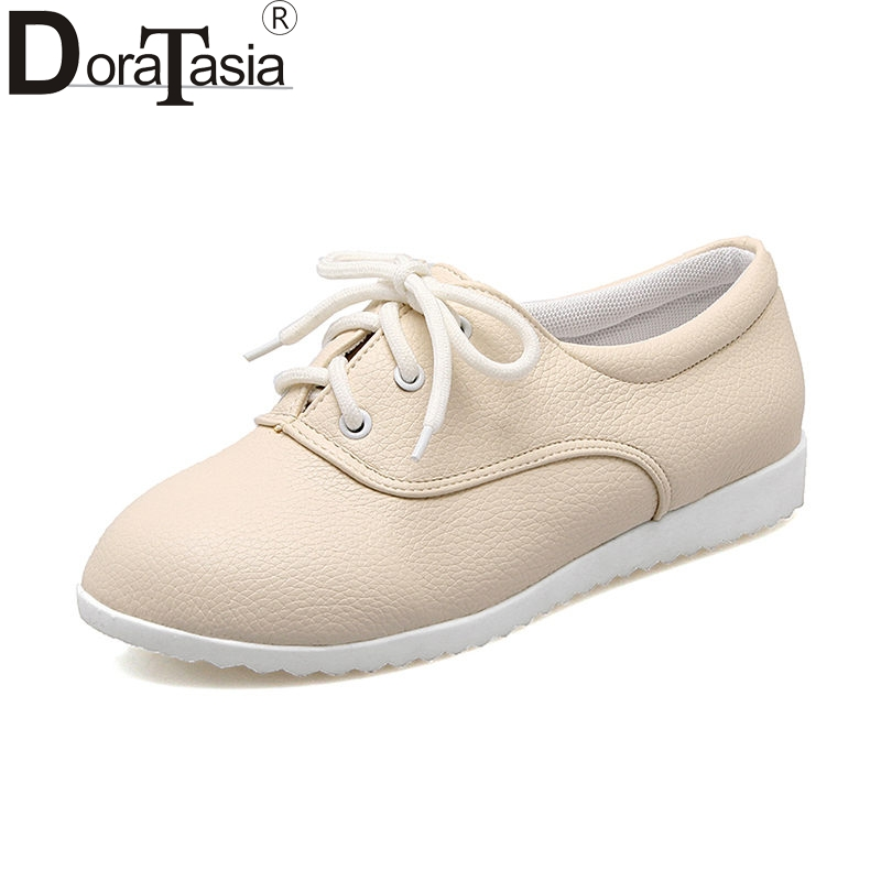 DoraTasia Spring Big Size 34-43 Fashion Good Quality Sneakers Women Vulcanize Shoes Comfort Shoes Woman