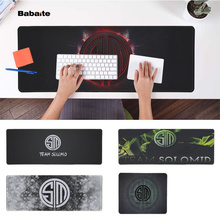 Babaite  TSM LOGO Office Mice Gamer Soft Mouse Pad Speed/Control Version Large Gaming Mouse Pad evans rf6gm 6 mountable speed pad