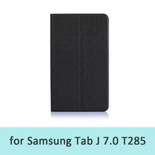 Tablet Pc Skin Cover Case For Samsung Galaxy Tab J T285 High Quality Leather 7.0inch Case Free Shipping