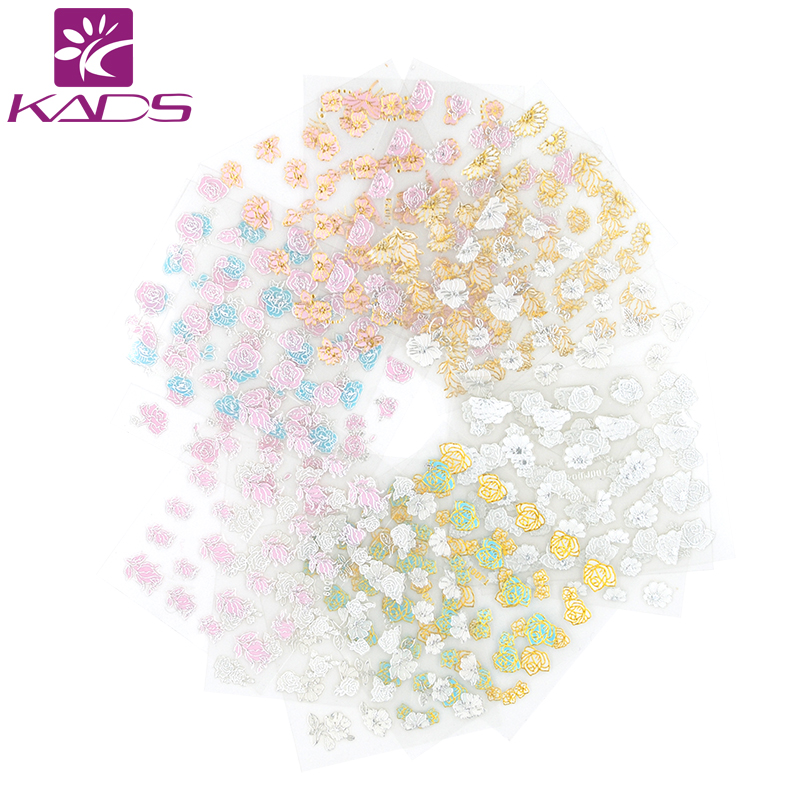 KADS Hot Sale 36pcs/set  3D Nail Art  Water Decals Beautiful Flowers Nail Transfer Stickers Nail Art Decoration Tools 160designs 100pcs lot hot water transfer nail art stickers full cover flowers cartoon diy beauty nail decals decoration