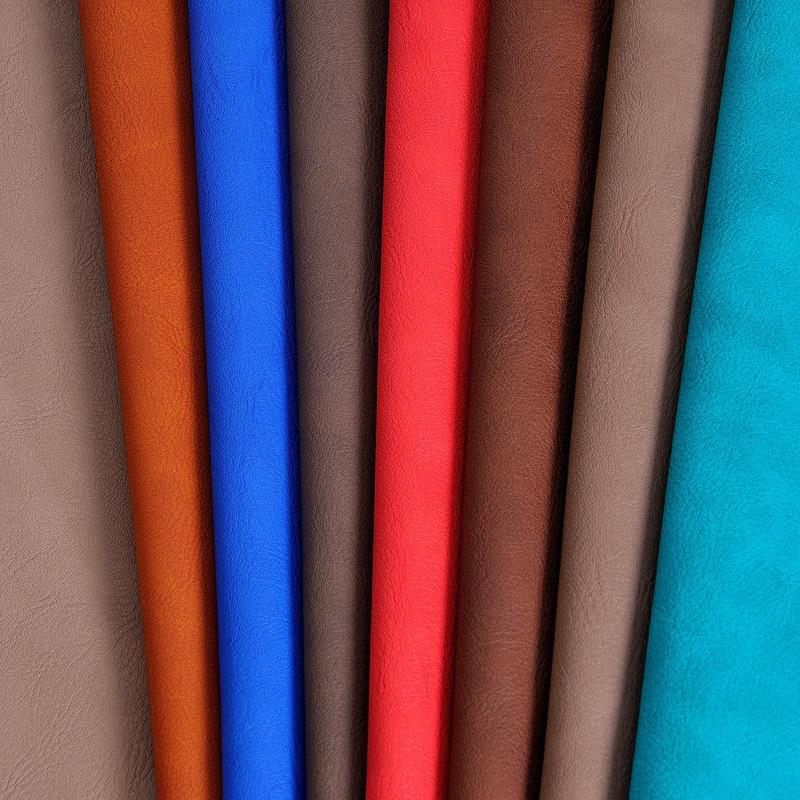 tela de tapicera para muebles tela de cuero de imitacin mm de espesor en