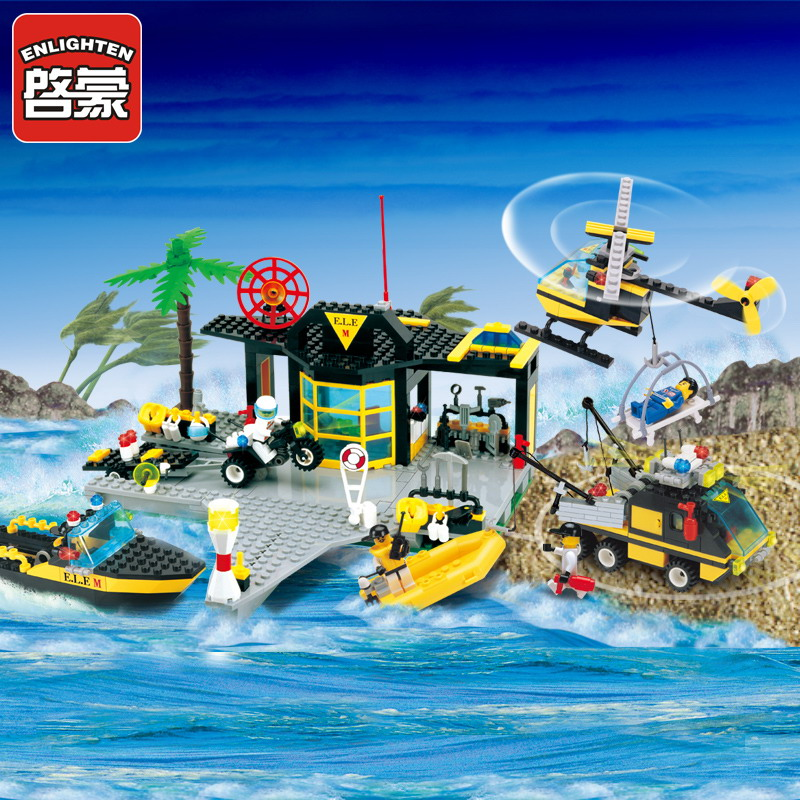 111 ENLIGHTEN Water Police Police Maritime Rescue Center Model Building Blocks Classic Figure Toys For Children Compatible Legoe quantitative risk assessment for maritime safety management