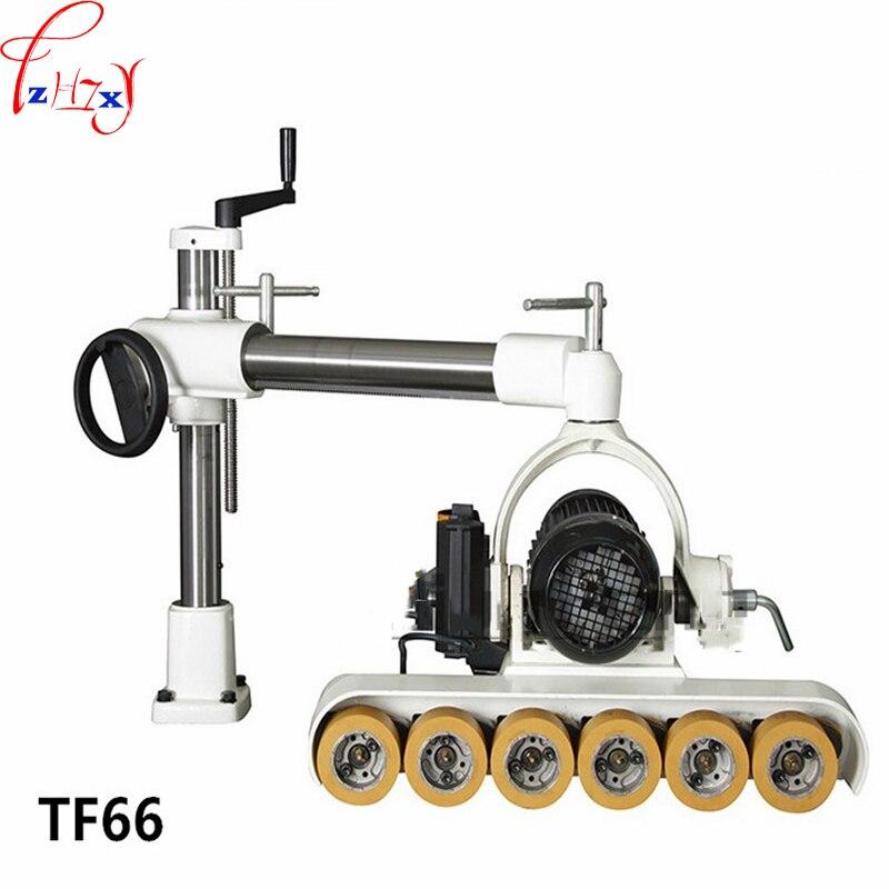 220/380V 375W 1PC Timber Sling Ring Feeder Material Machine TF66 Wood Feeder 6 Wheels 6 Speed Wood Feeder Machine