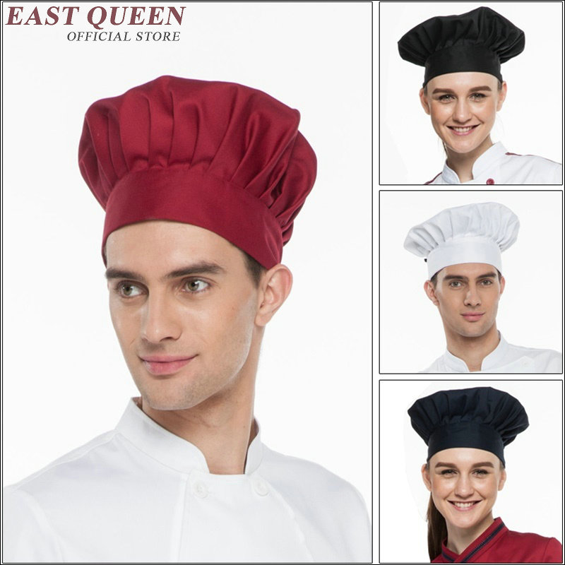 Chef Hat Cooking Cap Cafe Restaurant Working Cap Working Cap Chef Hat  AA1397X