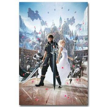Шелковый Плакат Гобелен Игра Последняя Фантазия Final Fantasy вариант 2