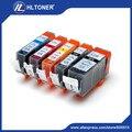 5 шт. Совместимый картридж PGI-520 CLI-521 PGI520 CLI521 для PIXMA MP620 MP630 MP640 MP980 MP990