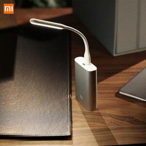 Image 3 - מקורי Xiaomi Mijia USB אור גמיש להסרה USB מאוורר Xiomi נייד LED אור עם מתג שליטה כיס גודל 5V 1.2W