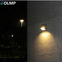 Lampara Exterior Outdoor Lighting Wall Scone Garden Porch Lamp Gazebo Lighting Rey Aluminum Light Fixture 6W