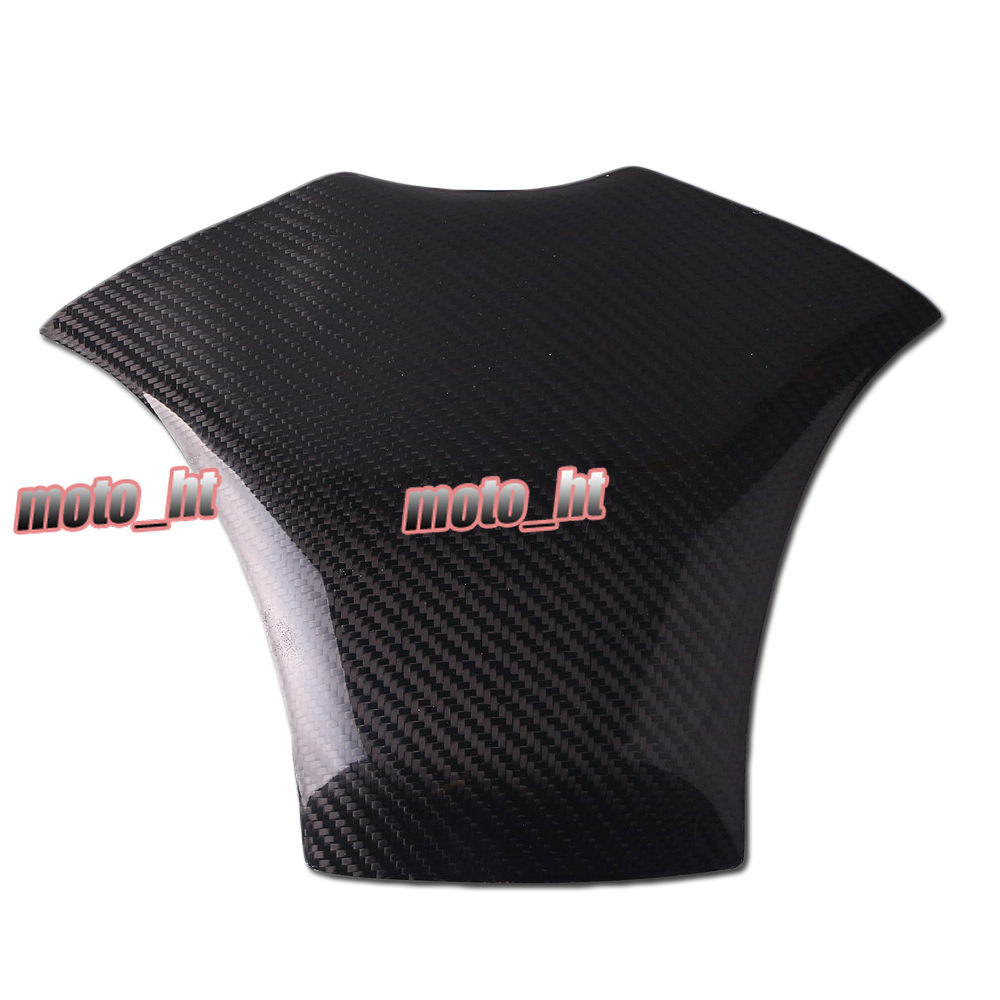 Carbon Fiber Fuel Gas Tank Cover Protector for Honda CBR600RR 2007 2008 2009 2010 2011 2012 brand new motorcycle carbon fiber 3d tank pad protector for ninja250r ex250r 2008 2011 2009 2010