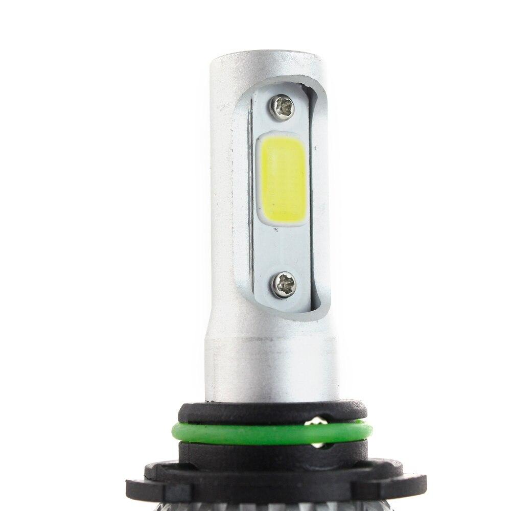 H4 LED Bulb H7 H1 H3 H8 H9 H11 H13 9005 HB3 9006 HB4 880 881 H27 9004 9007 Auto Headlamp 8000LM COB Car Light LED Lamp