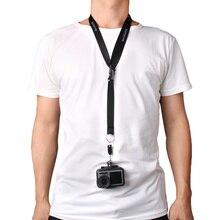 цена на Neck Wrist lanyard Strap Neck Sling Strap for DJI Osmo Action Camera for Gopro Hero 7 6 5 SJCAM SJ4000 wifi Yi 4K mijia