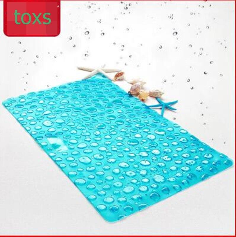 Tapis de bain salle de douche tapis de salle de bain paillasson échelles antidérapantes 42 cm * 72 cm