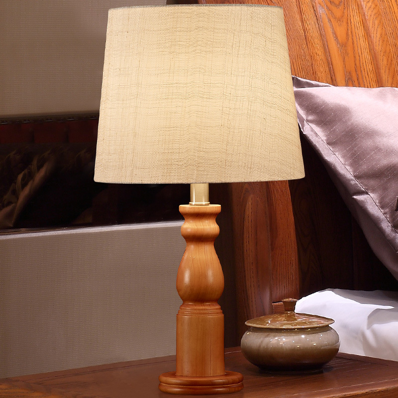 YOOK 28*52CM Chinese High Grade Solid Wood Table Lamps for Bedroom Bedside American Retro Classic Table Lamp for Living Room european style retro table lamps mediterranean solid wood table lamp living room lamp bedroom lamp country table lightin lu71363