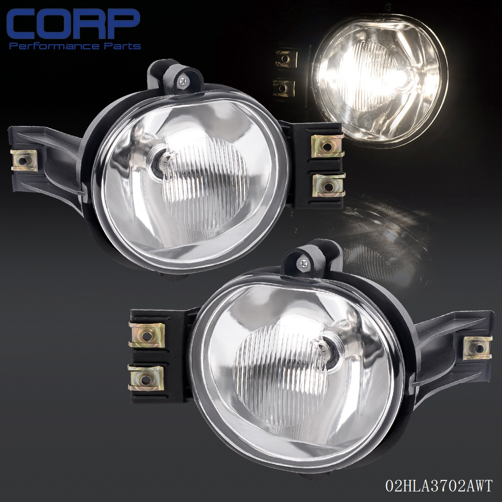 For 2002 2008 Dodge Ram 1500 2500 3500 2004 2006 Durango Fog Lights Pair Bulb In Car Light Embly From Automobiles Motorcycles On