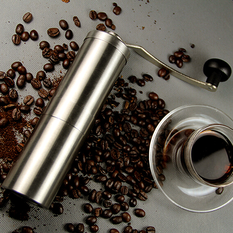 HOT SALE  Stainless Steel  Manual Coffee Grinder Precision Brewing Conical Burr Grinder perfect for Home coffee connoisseur