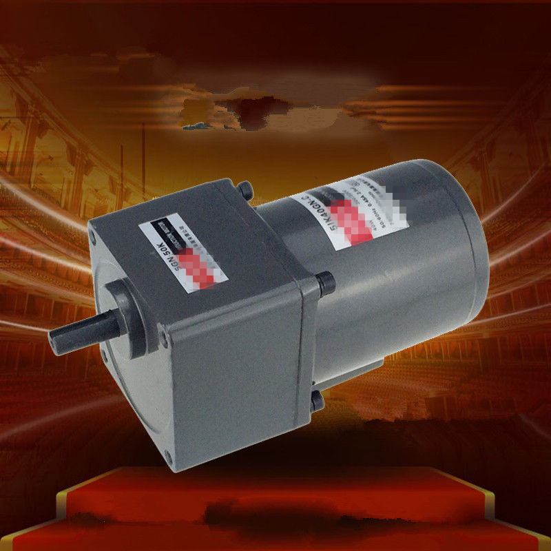Single Phase 220V AC Vertical Micro Gear Motor 40W 5IK40GN Constant Speed High TorqueSingle Phase 220V AC Vertical Micro Gear Motor 40W 5IK40GN Constant Speed High Torque