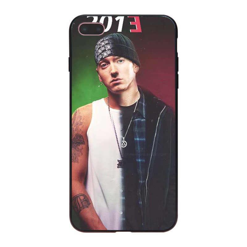 85ede55475d ... MaiYaCa Hip Hop Rapper Eminem rap Newest Super Cute Phone Cases for iPhone  8 7 6 ...