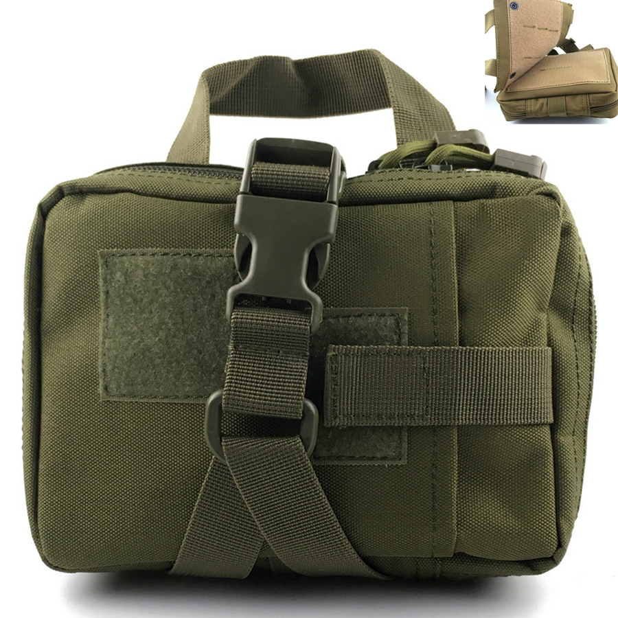 Tactical Medical First Aid Kit Bag Molle Medical EMT Cover Outdoor Emergency Military Package Outdoor Travel Hunting Utility new fashion waterproof outdoor travel home portable first aid bag carry small medical emergency kit first aid contains 11 kinds