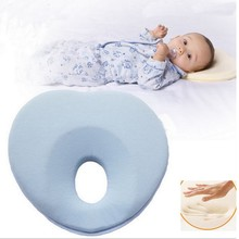 Top quality Lovely Newborn Toddler Safe Anti Roll Baby Infant Pillow Sleep Head Positioner Preventing Flat