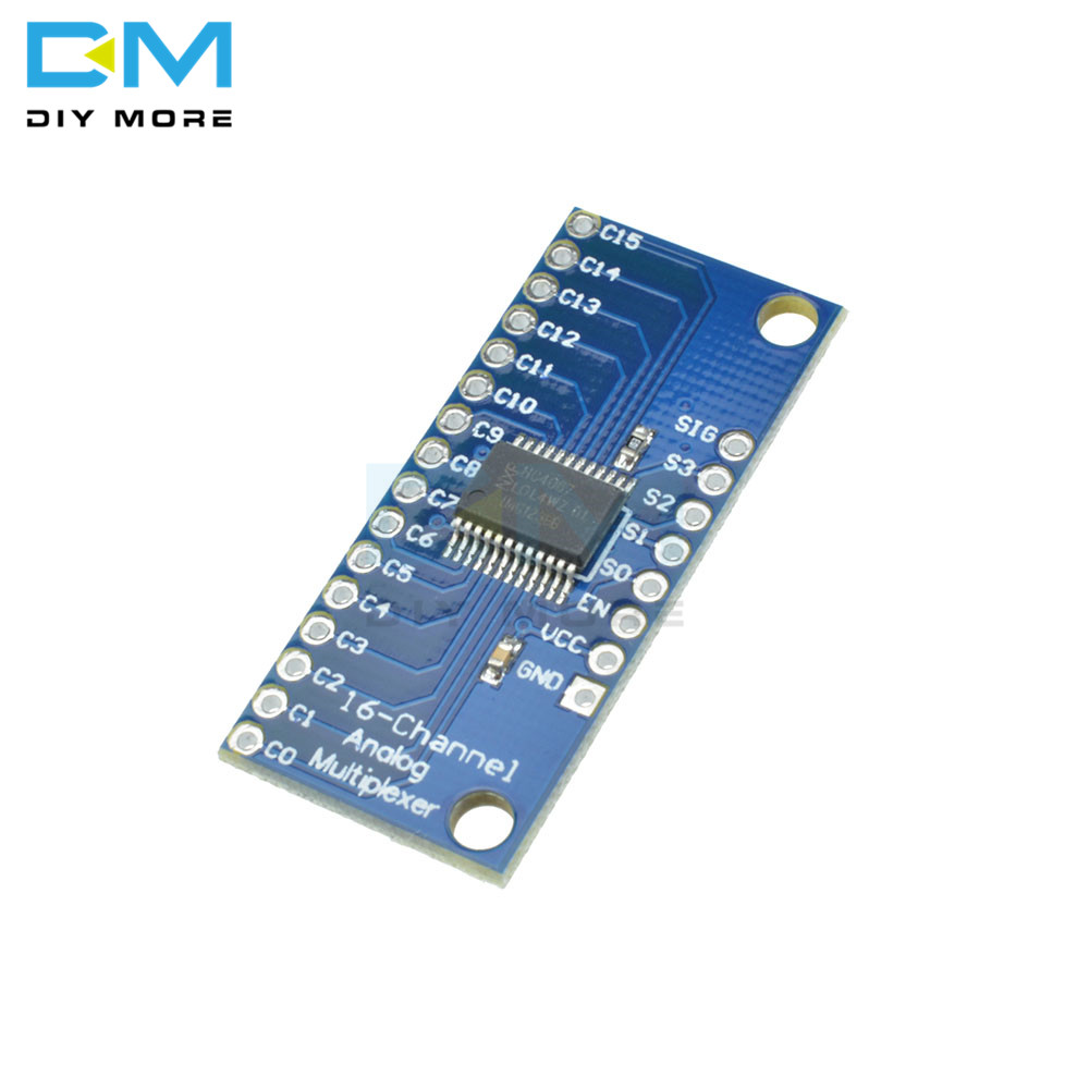 16CH Analog Digital MUX Breakout Board CD74HC4067 Precise Module For Arduino 16-Channel TTL-level 2V-6V For I2C SPI 16 Sensors