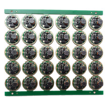 10 шт. Фонарик светодиодный драйвер 17 мм XM-L/XM-L2 1 Режим 3 в-18 в монтажная плата для DIY фонарик аксессуар для фонарика запчасти
