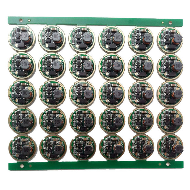 10 قطعة مصباح يدوي led سائق 17 مللي متر XM L/XM L2 1 وضع 3 فولت 18 فولت لوحة دوائر كهربائية DIY بها بنفسك مضيا الشعلة أجزاء الإكسسوارات