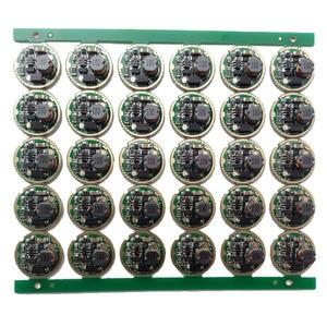 Image 1 - 10 pcs lampe de poche led pilote 17mm XM L/XM L2 1 Mode 3 V 18 V Circuit imprimé pour bricolage lampe de poche torche accessoire pièces