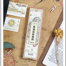 Buy map bookmark and get free shipping on aliexpress infeel 30 pcspack world travel map paper bookmark memo card 1 lot 300 pcs gumiabroncs Images