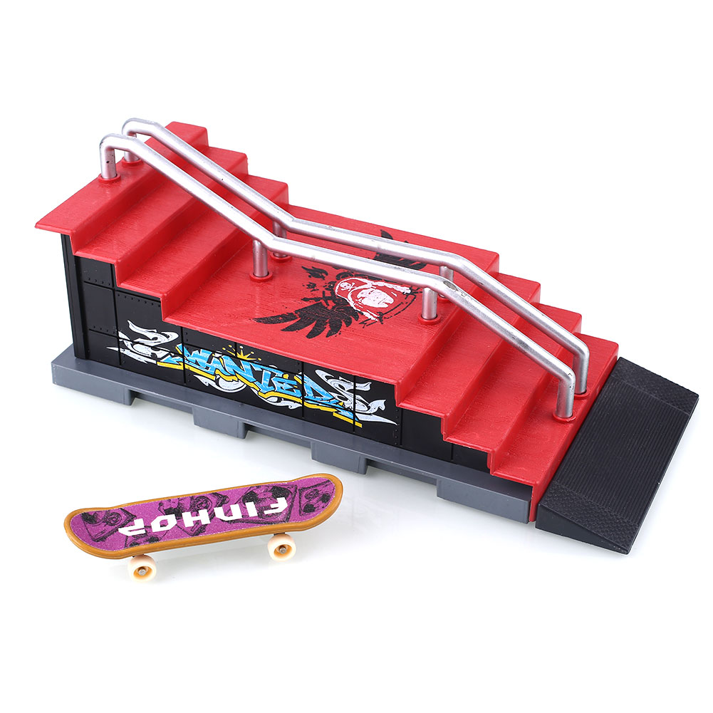 Alloy Skateboard Figures Games Set Sports Challenge Toys Colorful Operation