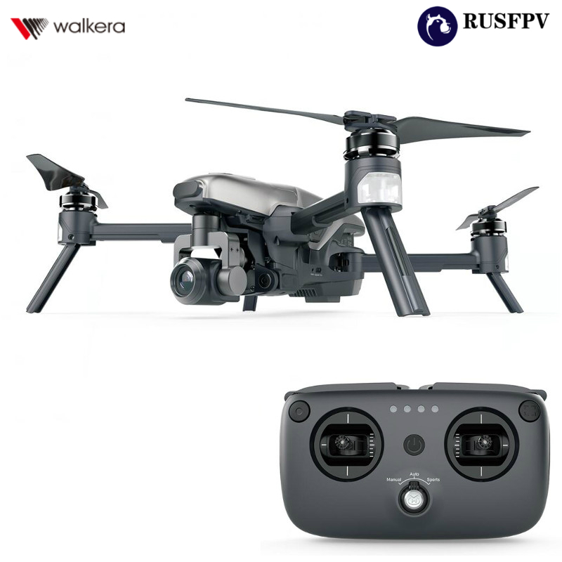 Walkera VITUS 320 5.8G Wifi FPV With 3-Axis 4K Camera Gimbal Obstacle Avoidance AR Games Drone RC Quadcopter RTF walkera vitus starlight 5 8g wifi fpv with night vision camera obstacle avoidance foldable rc drone quadcopter