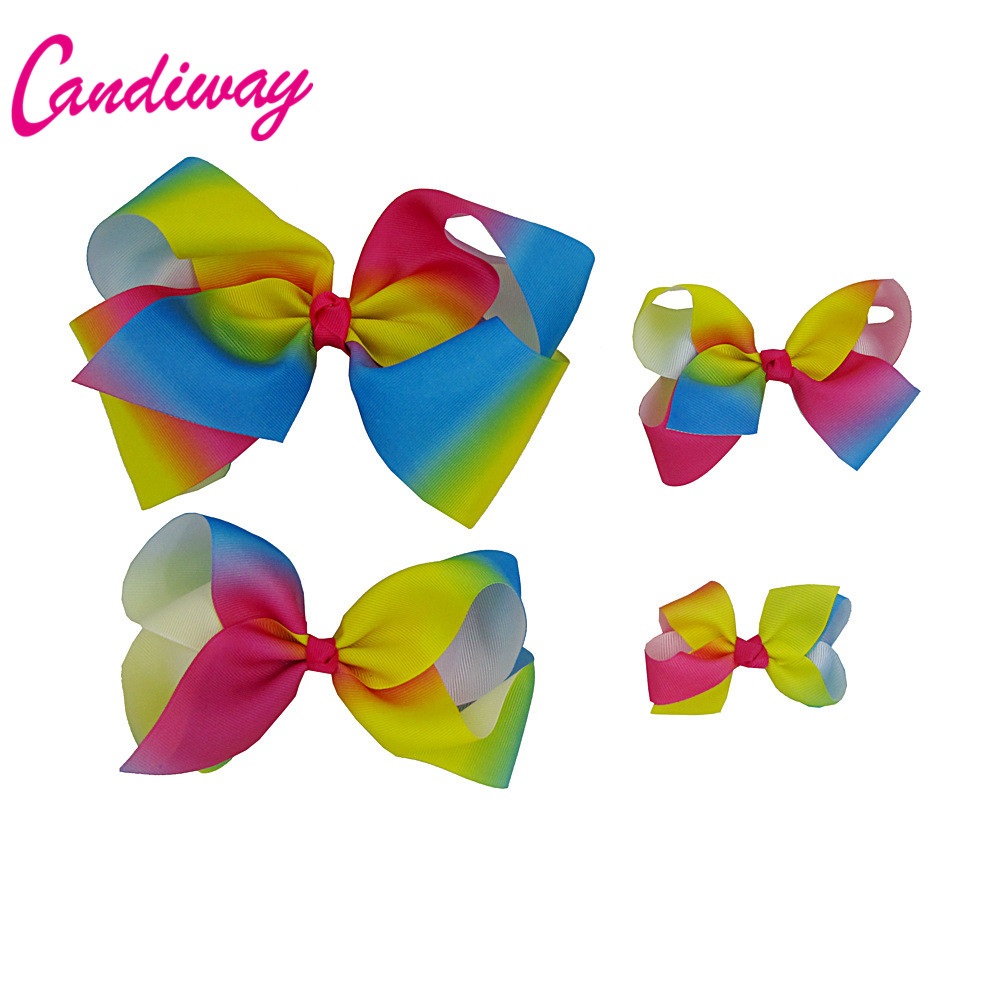 Candiway Hair Bow Boutique Cheering Candy Barrettes Kids
