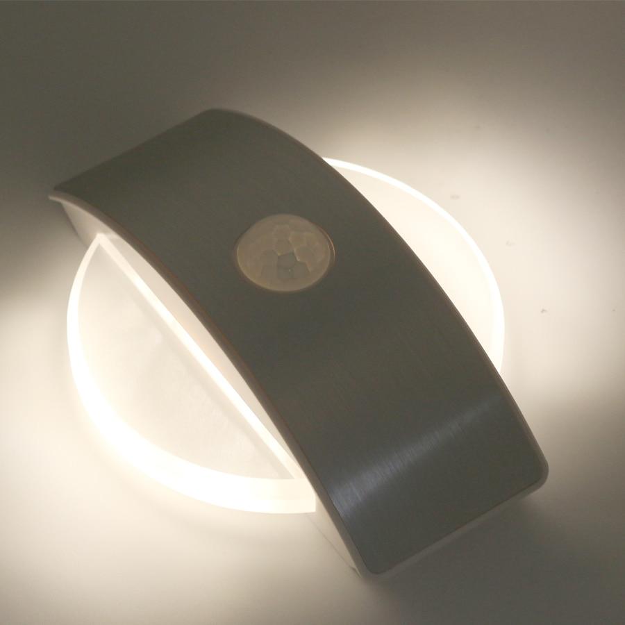 Luzes da Noite sensor de movimento da bateria Color : Warm White / White