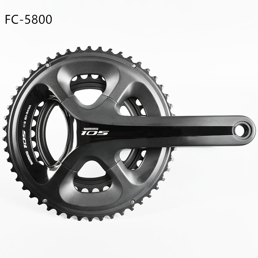 Shimano FC 5800 105 2x11 speed Road bike bicycle double Crankset 50 34T 53 39T 170