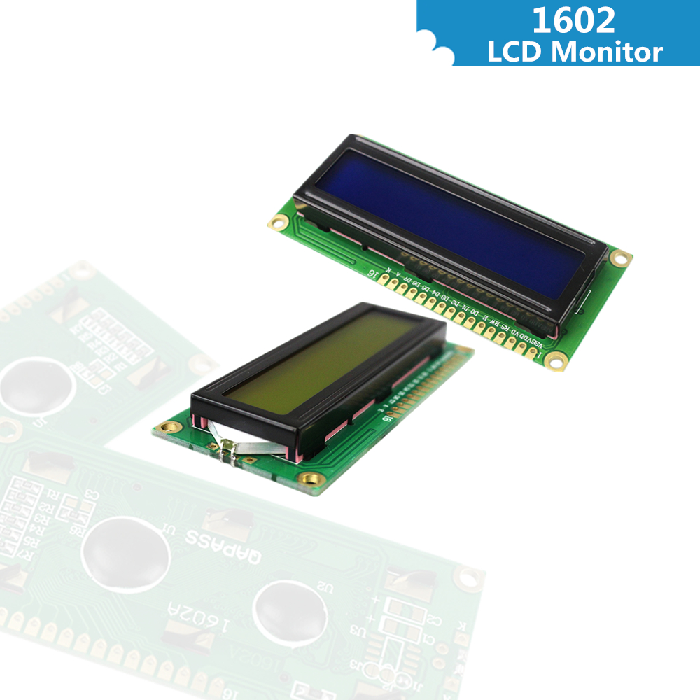 LCD 1602  IIC/I2C/TWI 1602 Serial  Backlight LCD1602 Module for arduino new iic i2c twi spi serial interface board module port 5v lcd adapter converter module compatible for lcd1602 2004 lcd