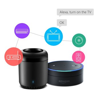 IR Control Hub Works  Alexa RM Mini3 Smart Home Wi-Fi Enabled Infrared Universal Remote Control One for All Control 1