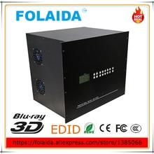 24 в 24 из HDMI матричный коммутатор 24x24 матричный коммутатор Поддержка Универсальный EDID 8U металлический штекер в матрица- 05