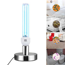 Кварцевый UVC бактерицидные стерилизация CFL озоновая лампа лампы ультрафиолетовый свет E27 базы для дезинфекции бактериальных убить клещей Дезодоратор