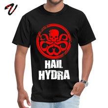 Tops Tees Hail Hydra Lovers Day Faddish Party Short Sleeve Hungary Fabric O-Neck Mens Tshirts T Shirt