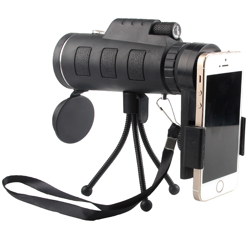 TOKOHANSUN 40X Zoom Lens for Smartphone Telescopio Para Celular Monocular Camera Zoom Lenses for Mobile Phone Outdoor Hunting|Mobile Phone Lens|Cellphones & Telecommunications - title=