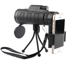 TOKOHANSUN 40X Zoom Lens for Smartphone Telescopio Para Celular Monocular Camera Zoom Lenses for Mobile Phone Outdoor Hunting