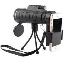 TOKOHANSUN 40X soczewka powiększająca do smartfona Telescopio Para Celular monokularowy aparat soczewka powiększająca es do telefonu komórkowego polowanie na zewnątrz